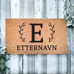 Bilde av Dørmatte - Monogram Navn
