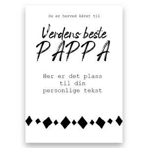 Bilde av Poster - Verdens beste pappa